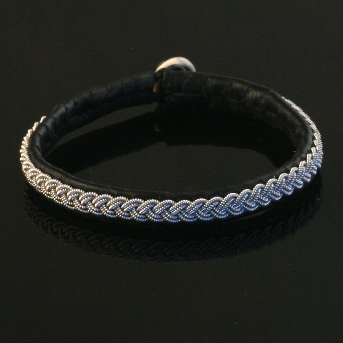 Pewter Thread Single Braid