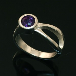 Two River Ring - Amethyst