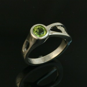 Two River Ring - Peridot