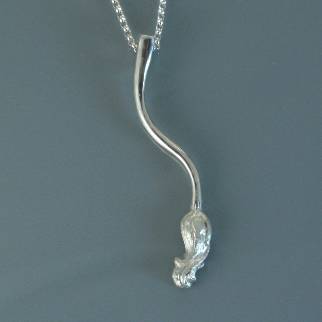 Huldra Tail Pendant - sterling silver