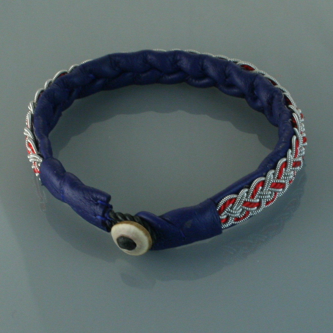Pewter Thread Bracelet