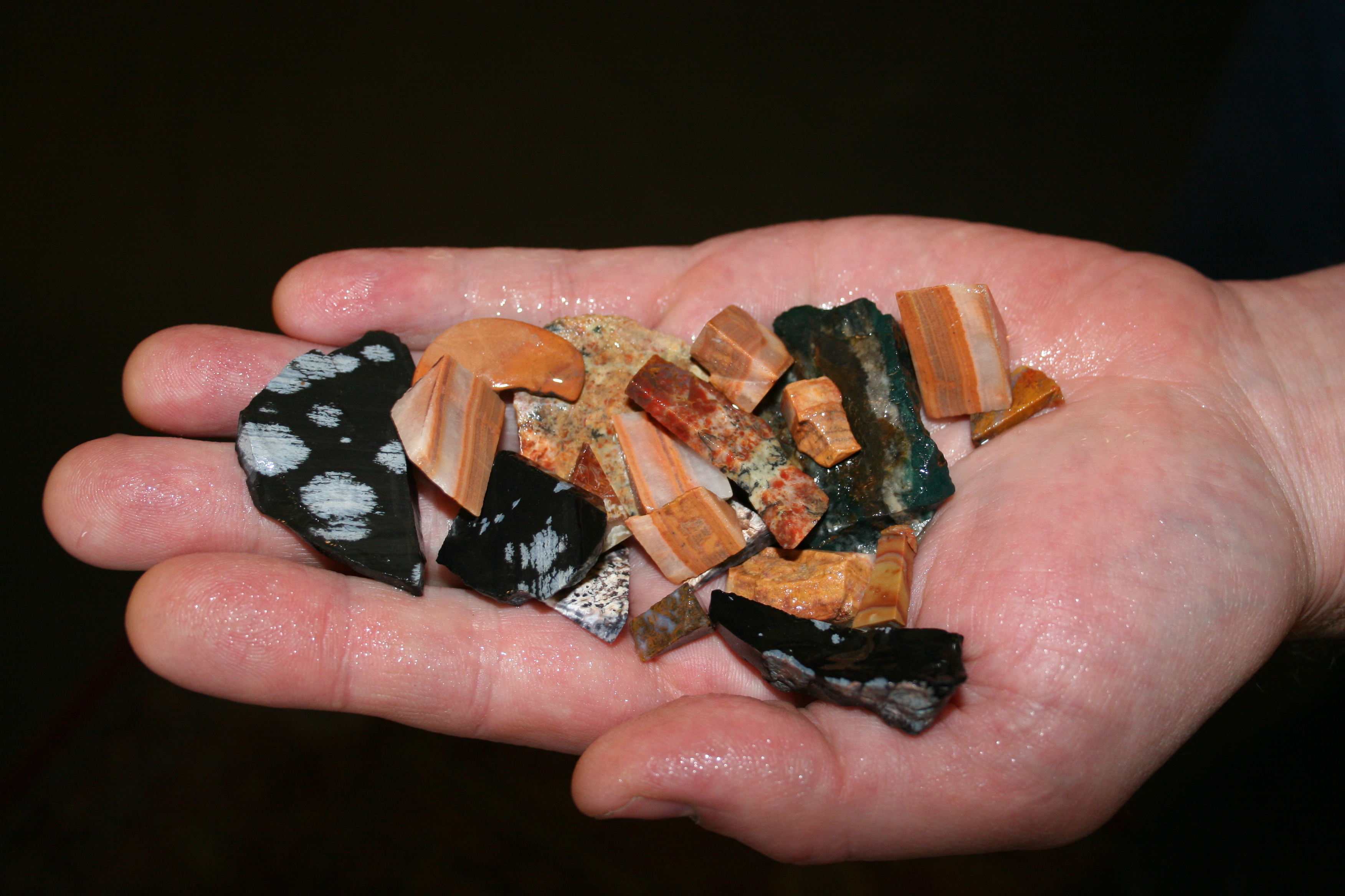 Examples of Gemstone Bags